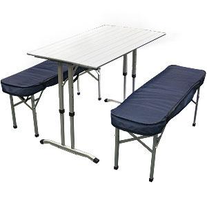 Комплект мебели стол+ 2 скамейки Camping World Optimus