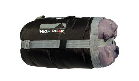 Компрессионный мешок High Peak Kompression Bag 37х18см, черный/серый