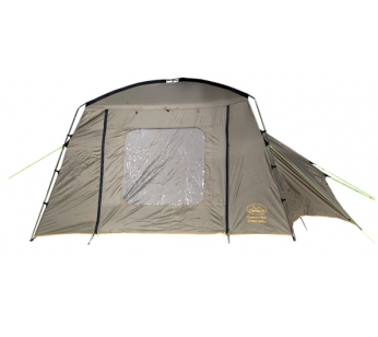 Тент Campus Community tent stone beige 909 / graphite 711 / dark yellow 400