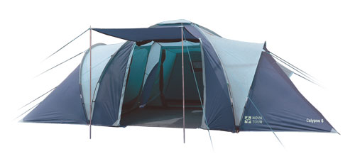 Палатка Nova Tour Калипсо 6 N Синий / Голубой