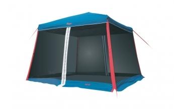 Тент-шатер Canadian Camper Easy-Up Цвет royal (сине-серо-красный)