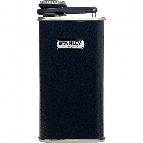 Фляжка Stanley Classic Pocket Flask Темно-синяя
