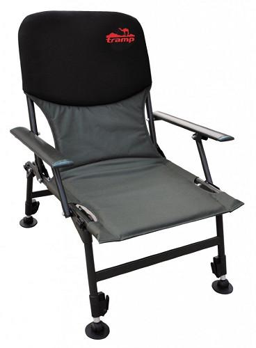 Кресло карповое Tramp Fisherman TRF-032 Черный/Темно-серый